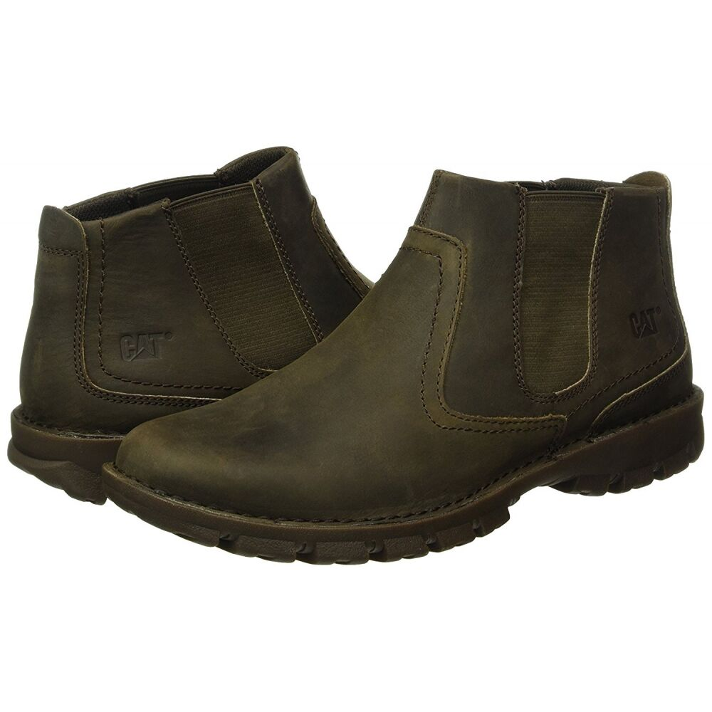 Мужские ботинки Caterpillar Hoffman Mens Boots Brown фото 7