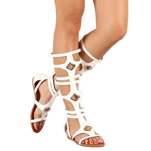 Летние сапоги Liliana Strappy Flat Gladiator фото 5