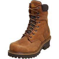 "Мужские ботинки Chippewa Men's 8"" Industrial 55026 Logger Boot"