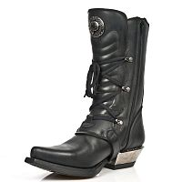 Мужские сапоги New Rock Men's M.7993-S1 Leather Cowboy Look Boots