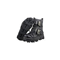 Мужские байкерские сапоги Mens Punk Buckle Gothic Motorcycle boots