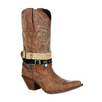 "Женские сапоги Crush by Durango Women's 12"" Accessory Western Boot--DRD0122"