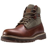 Мужские ботинки Caterpillar Mens Brown Sugar/Olive Saga Canvas Boots