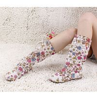 Женские сапоги summer color colorful boots