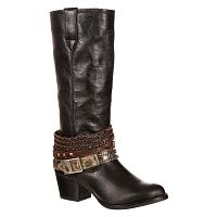 Женские сапоги Durango Women's 14'' Philly Accessorized Western Leather Dress Boots