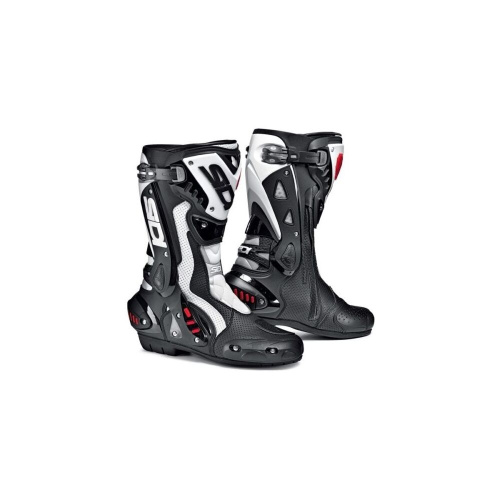Мотоботы Sidi ST Air Black/White Sports Race Boots New