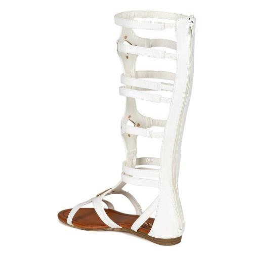 Летние сапоги Liliana Strappy Flat Gladiator фото 3