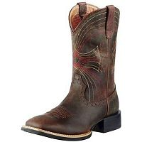 Мужские сапоги Men's Ariat Sport Wide Square Toe Cowboy Western