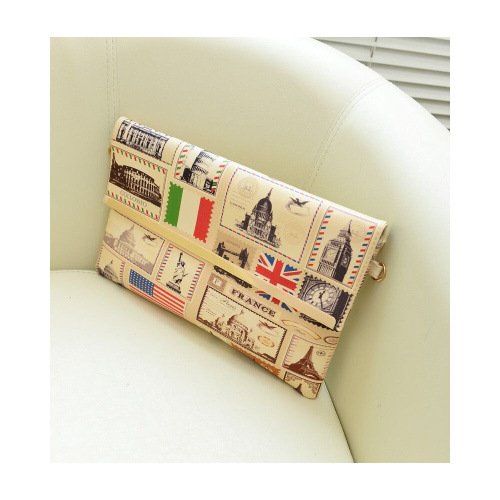 Женский клатч Colorful Women Clutch Bag фото 2