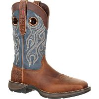"Мужские сапоги Durango Mens Rebel 12"" Western WP Square Steel Toe"