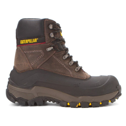 Мужские ботинки Caterpillar Men's Flexshell WP Steel Toe Work Boot фото 2