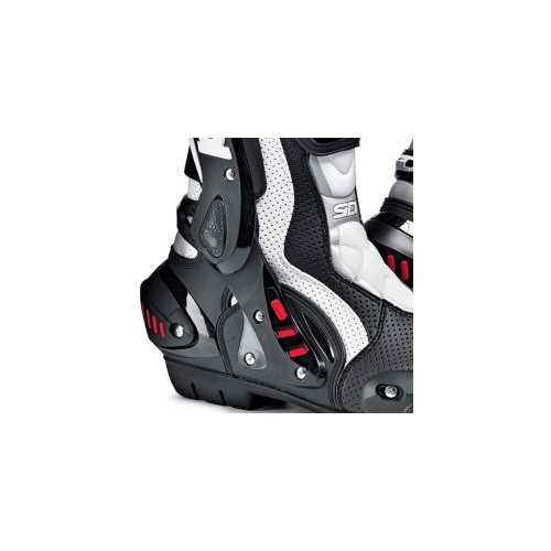 Мотоботы Sidi ST Air Black/White Sports Race Boots New фото 3