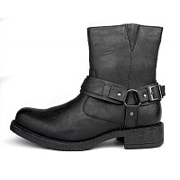 Сапоги Bonafini Collection Harness Motorcycle Boots Shoes Black