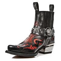 Мужские сапоги New Rock WST005-S2 Black Dallas Boots