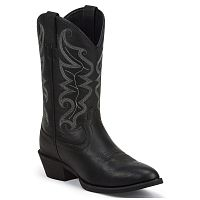 Мужские сапоги Justin All Star Black Western Boots
