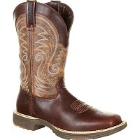 Мужские сапоги Durango UltraLite DDB0137 Mens Brown Leather Waterproof Western Boots