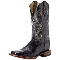 Мужские сапоги Ferrini Men's Print Crocodile S-Toe Western Boot