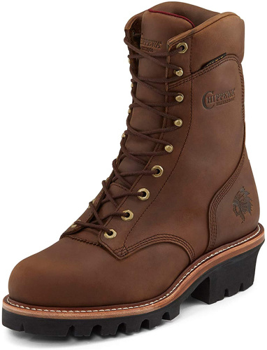 Мужские ботинки Chippewa Men's Waterproof Logger Work Boot Steel Toe - 59405